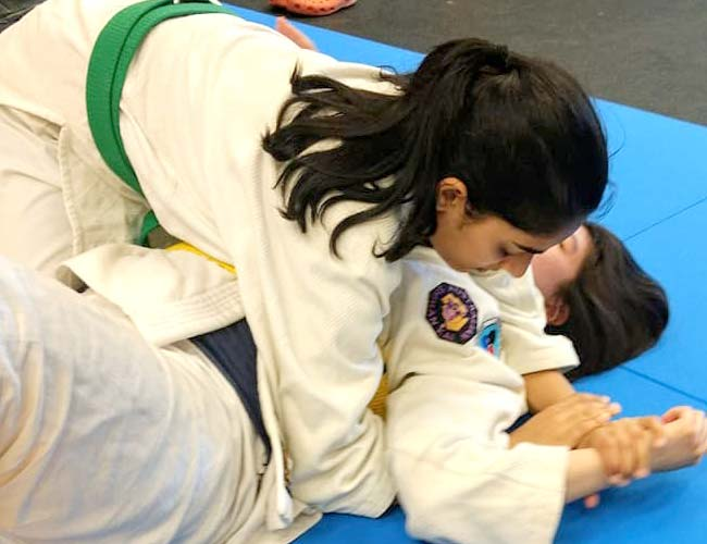 Armlock at Clayton JiuJitsu
