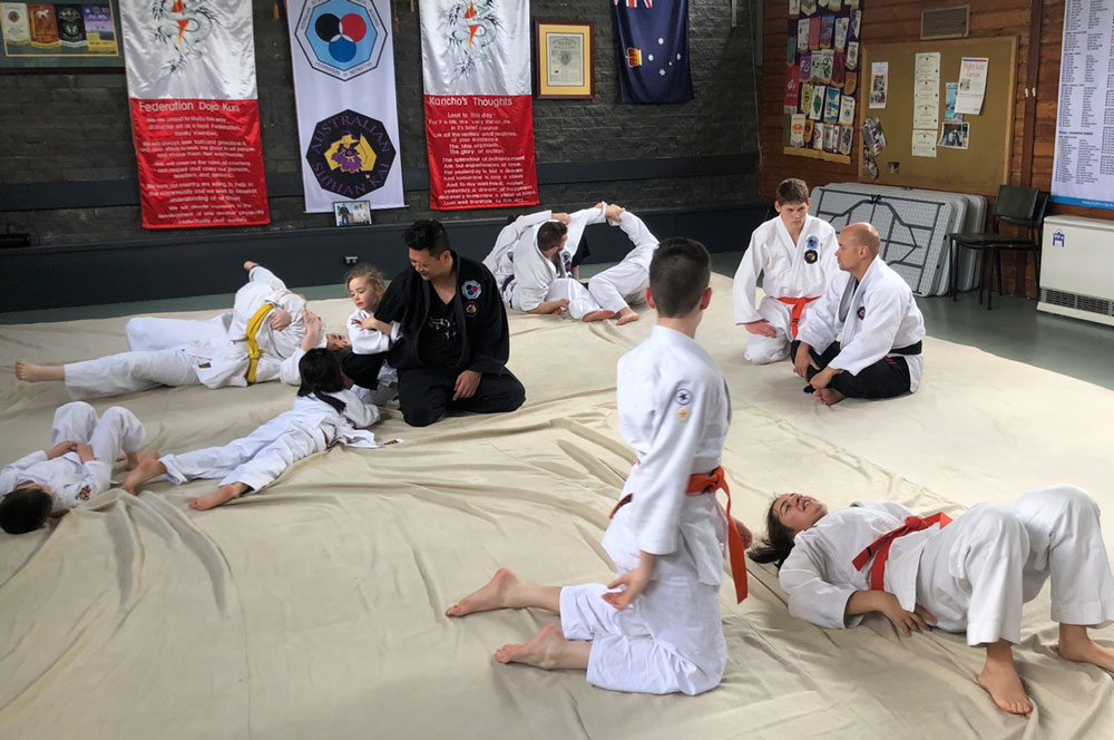 mighty mites learning groundwork grappling